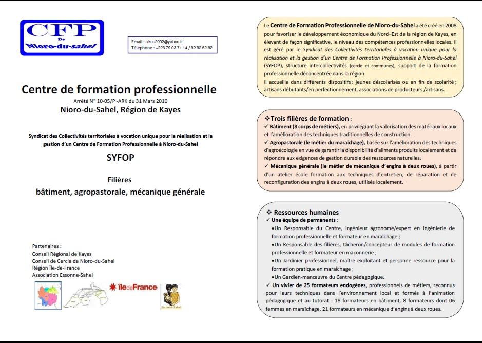 Centre_Form_Pro_Nioro_du_Sahel 1